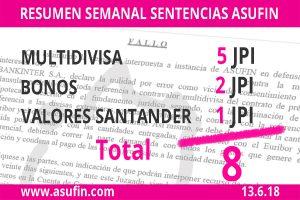 Resumen Semanal Sentencias ASUFIN