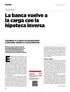 HIPOTECA INVERSA - REVISTA INVERSIÓN - página 1 - ASUFIN