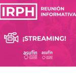 IRPH: vídeo reunió informativa Barcelona – 30.03.20