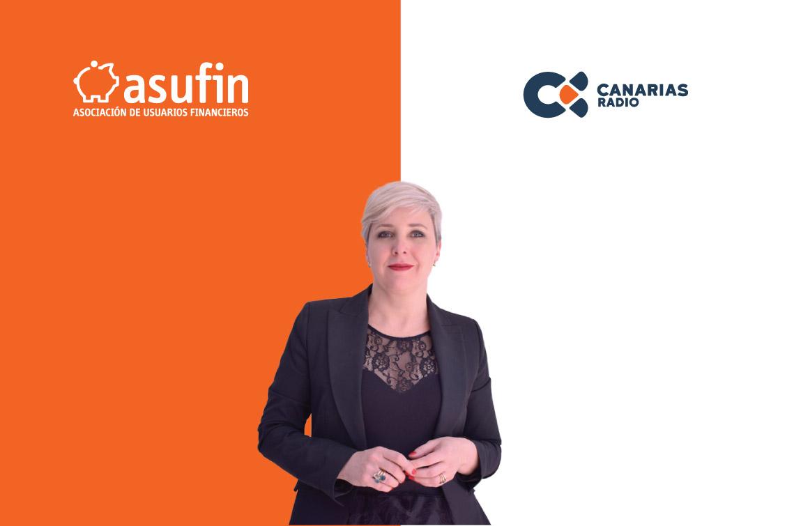 TRANQUILIDAD: ASUFIN en CANARIAS RADIO – 11.01.20