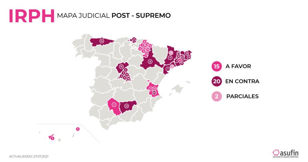 Mapa IRPH Post Supremo